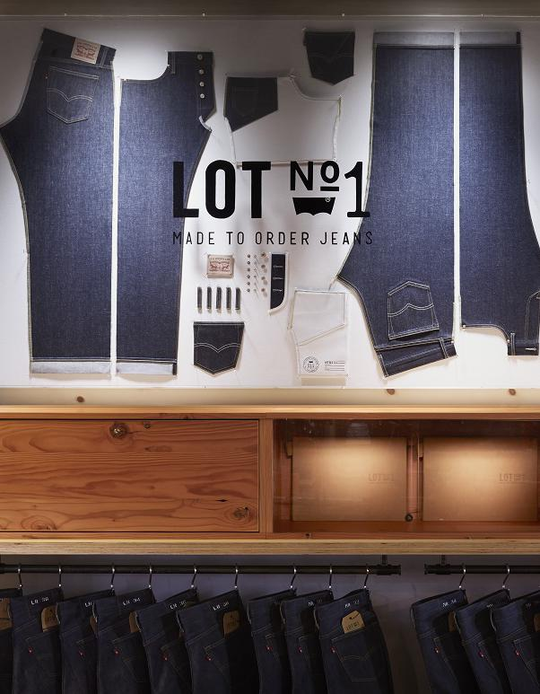 L'instant mode : le nouveau service de confection de jean sur-mesure de Levi's