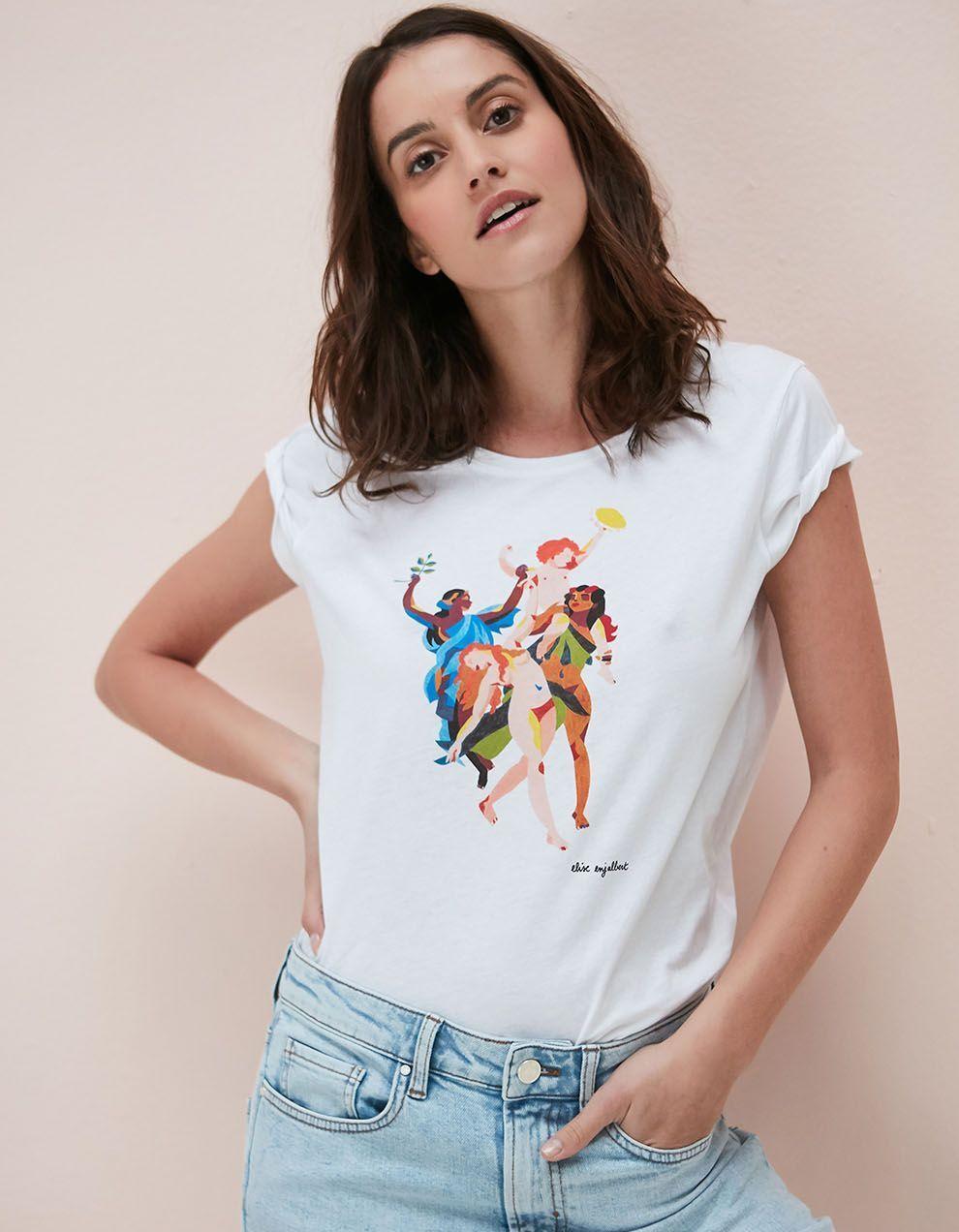 L'Instant Mode : Sud Express dévoile un t-shirt solidaire pour la Journée de la Femme - Elle