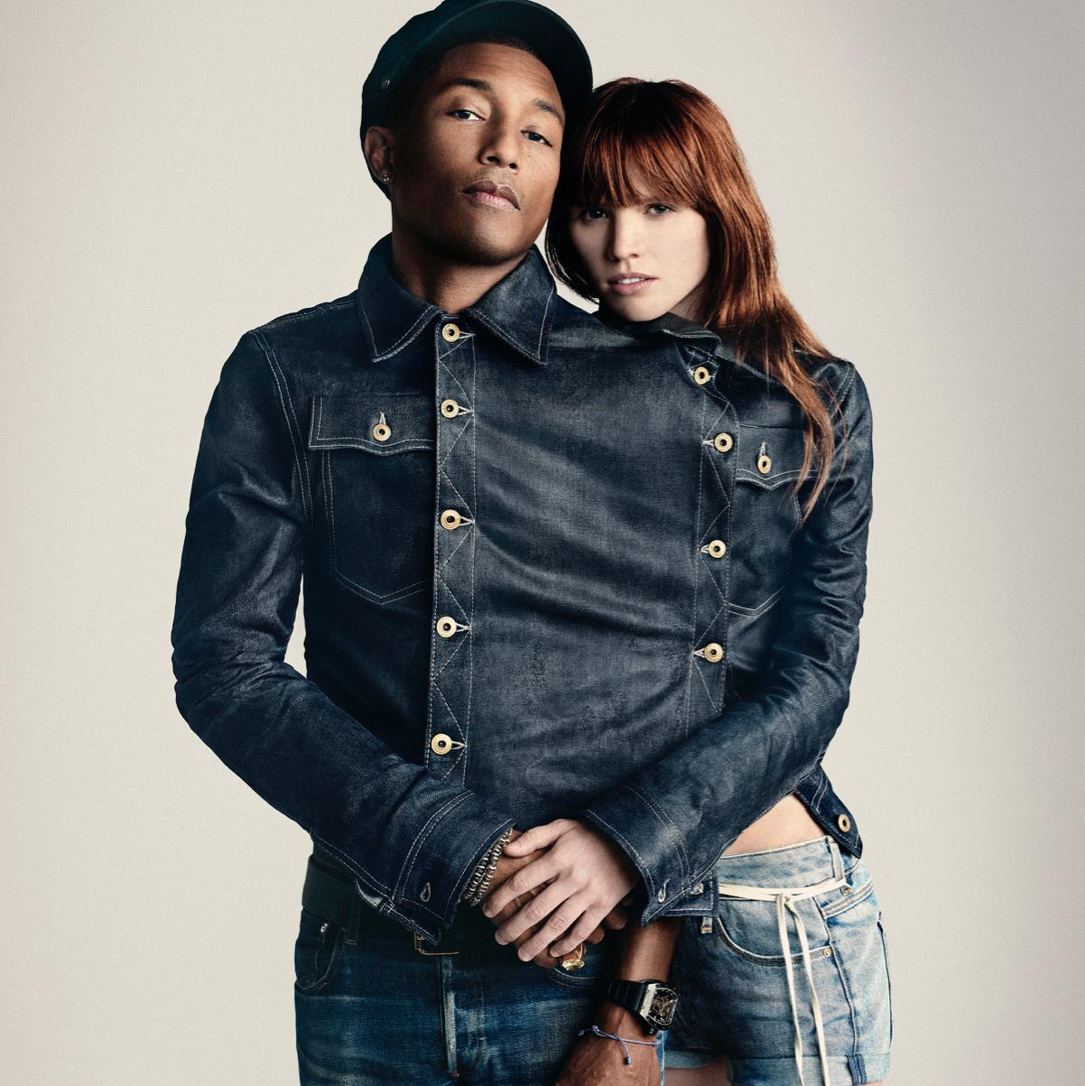 Pharrell Williams : l'aventure continue avec G Star RAW Elle