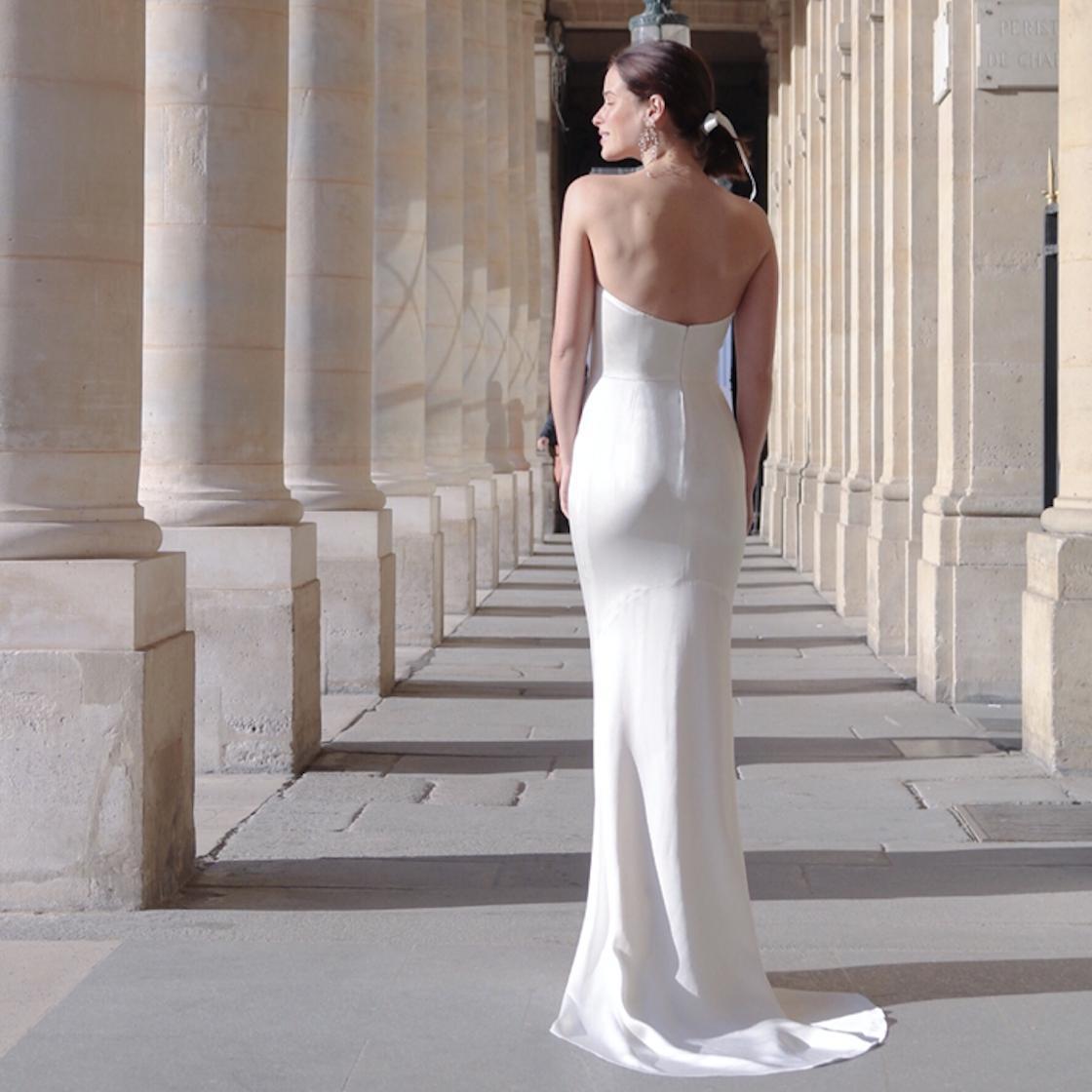 Une robe de mariée sur-mesure et accessible,