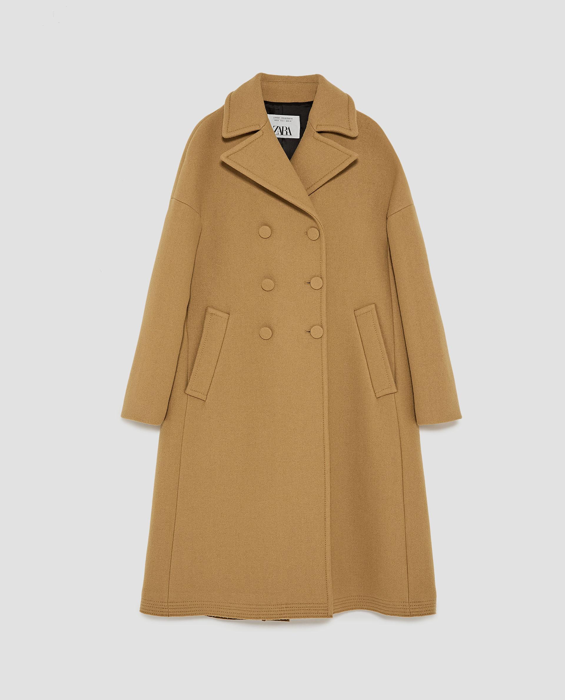 Manteau long chez zara