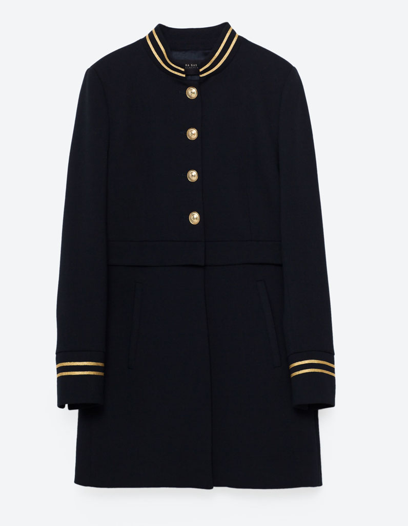 Manteau officier de marine