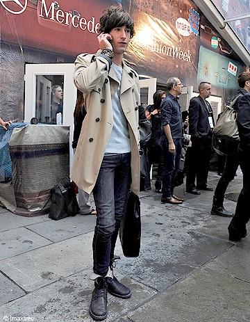 Trendy chic - Revue de looks masculins
