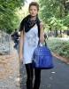 Street Style : les mannequins à la sortie des défilés milanais
