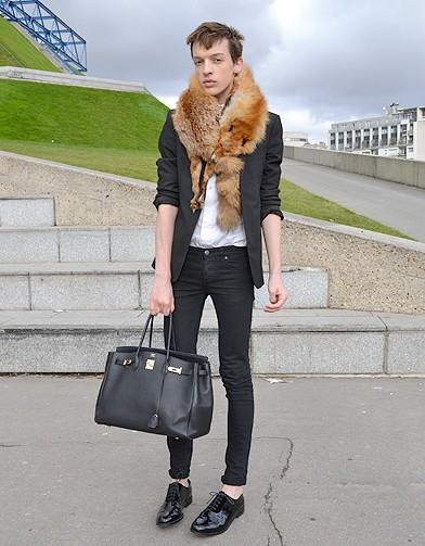Mode street style homme look tendances defiles haute couture paris 14 stree - Style parisien homme ...