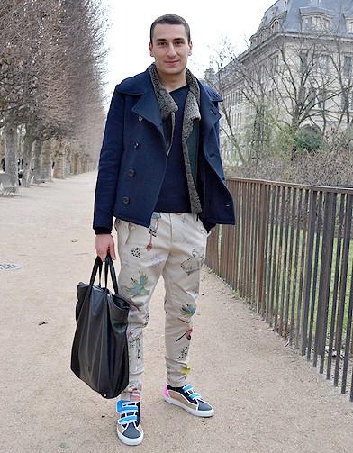 mode street style homme look tendances defiles haute couture paris 16 street style les mecs. Black Bedroom Furniture Sets. Home Design Ideas