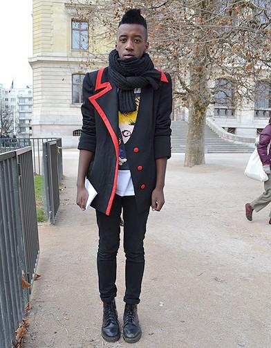 mode street style homme look tendances defiles haute couture paris 19 street style les mecs. Black Bedroom Furniture Sets. Home Design Ideas