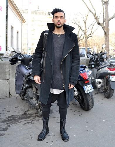 mode street style homme look tendances defiles haute couture paris 26 street style les mecs. Black Bedroom Furniture Sets. Home Design Ideas