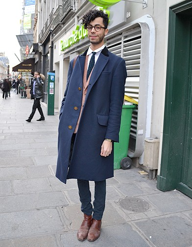mode street style homme look tendances defiles haute couture paris 54 street style les mecs. Black Bedroom Furniture Sets. Home Design Ideas