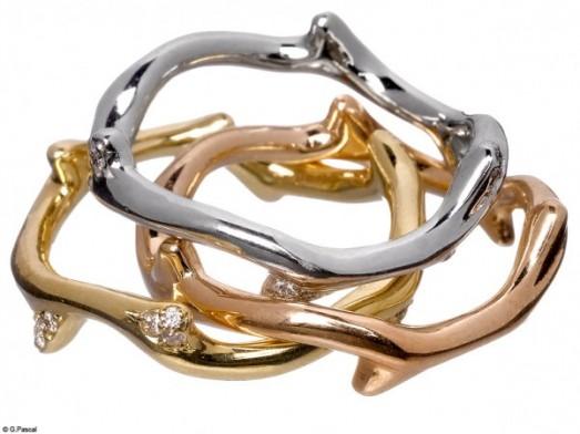 Mode diaporama accessoire bijoux mariage alliance dior joaillerie