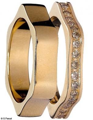 Mode diaporama accessoire bijoux mariage alliance montblanc
