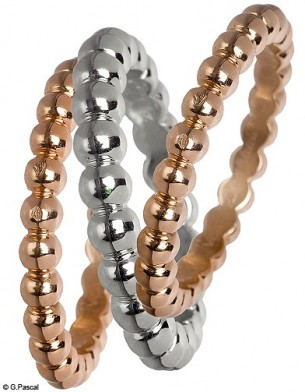 Mode diaporama accessoire bijoux mariage alliance van cleef arpels
