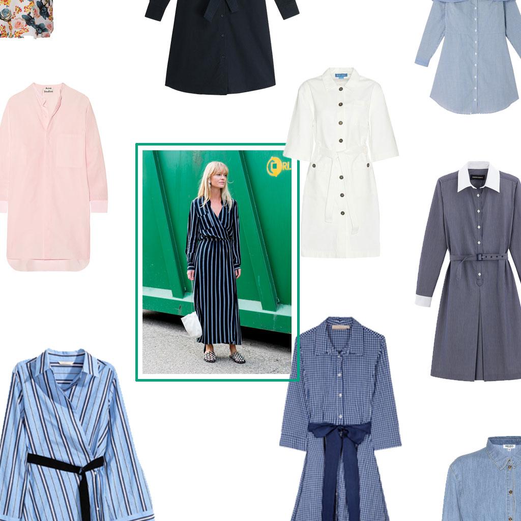 Robe Chemise 20 Robes Chemises Qui Ont Du Style Elle