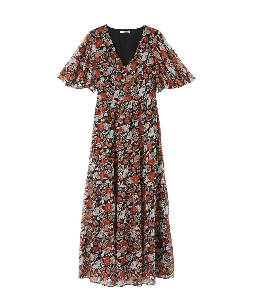 Robe Longue Imprimee Camaieu 20 Robes Imprimees A Adopter Pour Les Beaux Jours Elle