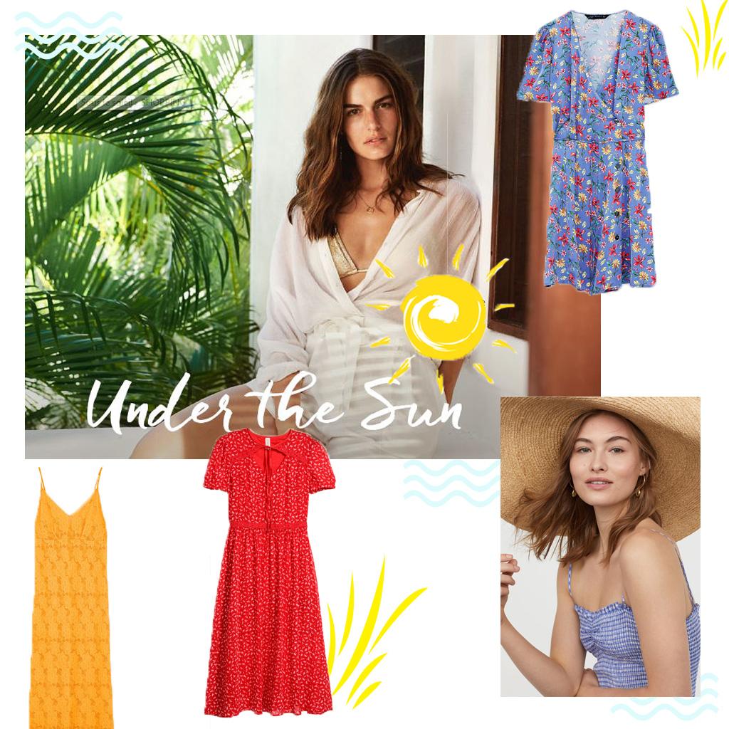 f98b744233e53 Voici les 30 plus belles robes de l'été repérées chez H&M, Zara et Mango -  Elle