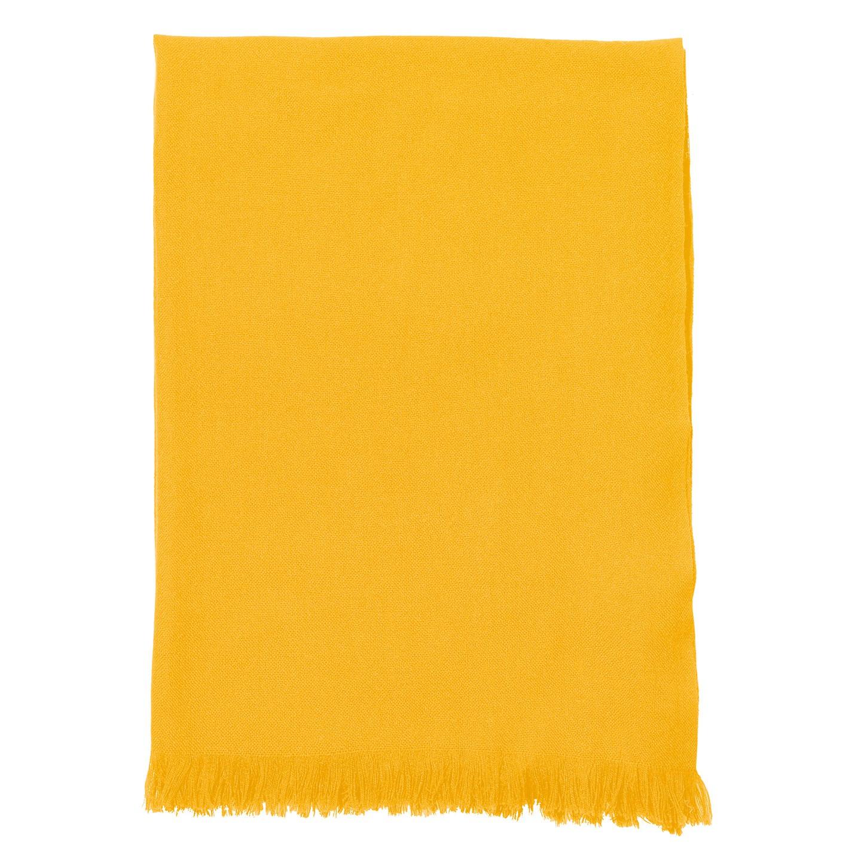 843bdd3cab2 Echarpe Voile de Cachemire jaune Vitamine