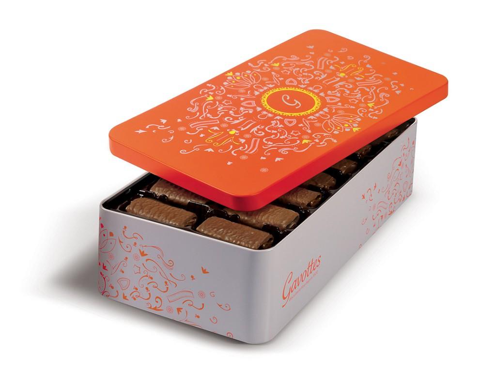 coffret plaisir chocolat orange gavottes le no l gourmand des enfants elle. Black Bedroom Furniture Sets. Home Design Ideas