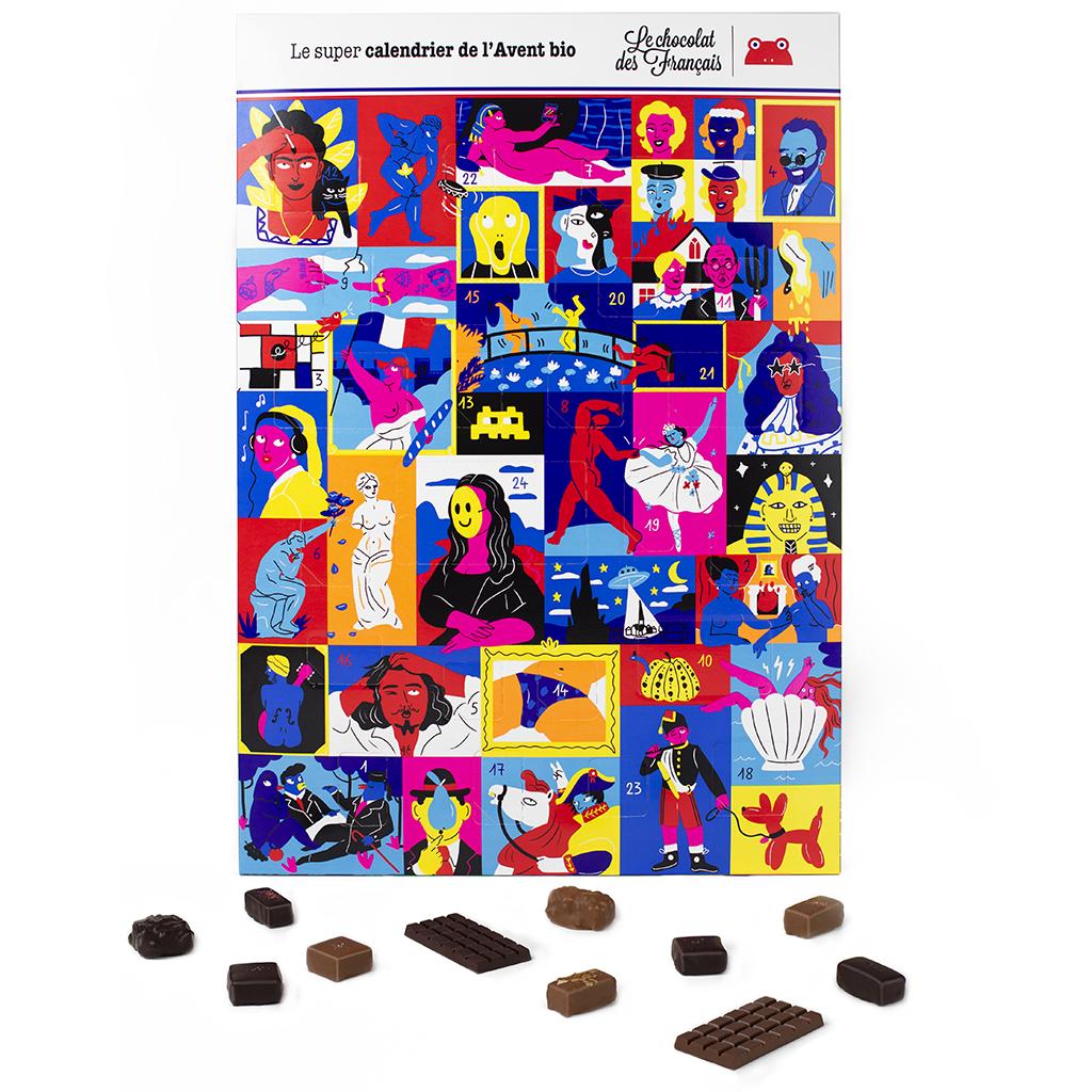 calendrier de l avent le chocolat des