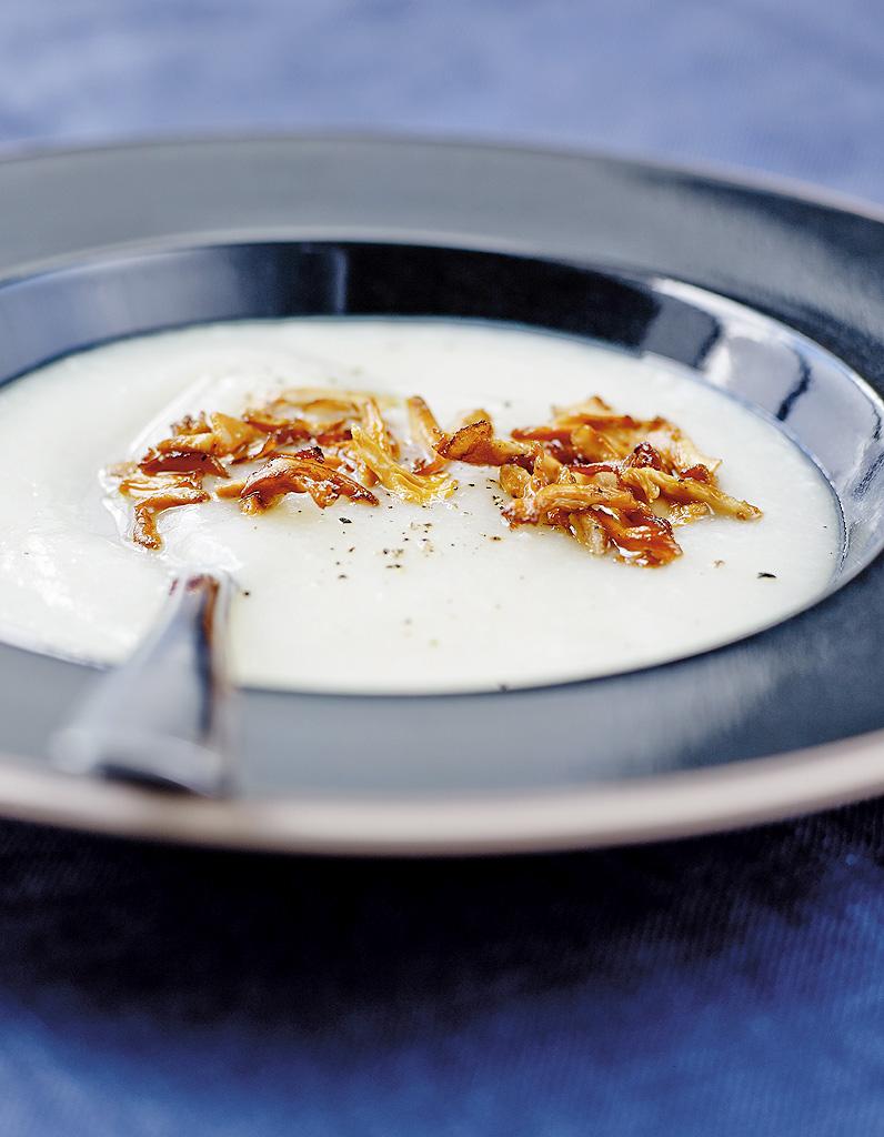 Soupe De Panais Et Chou Fleur Aux Girolles Pour 4 Personnes