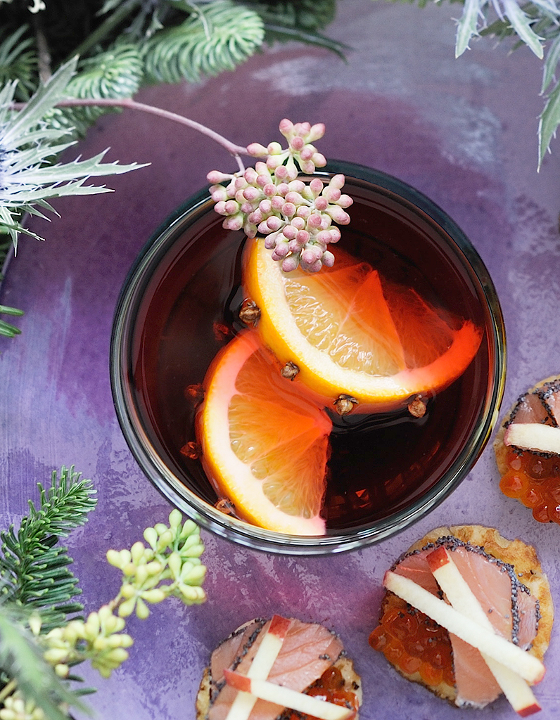 vin chaud orange hibiscus pour 8 personnes recettes elle. Black Bedroom Furniture Sets. Home Design Ideas