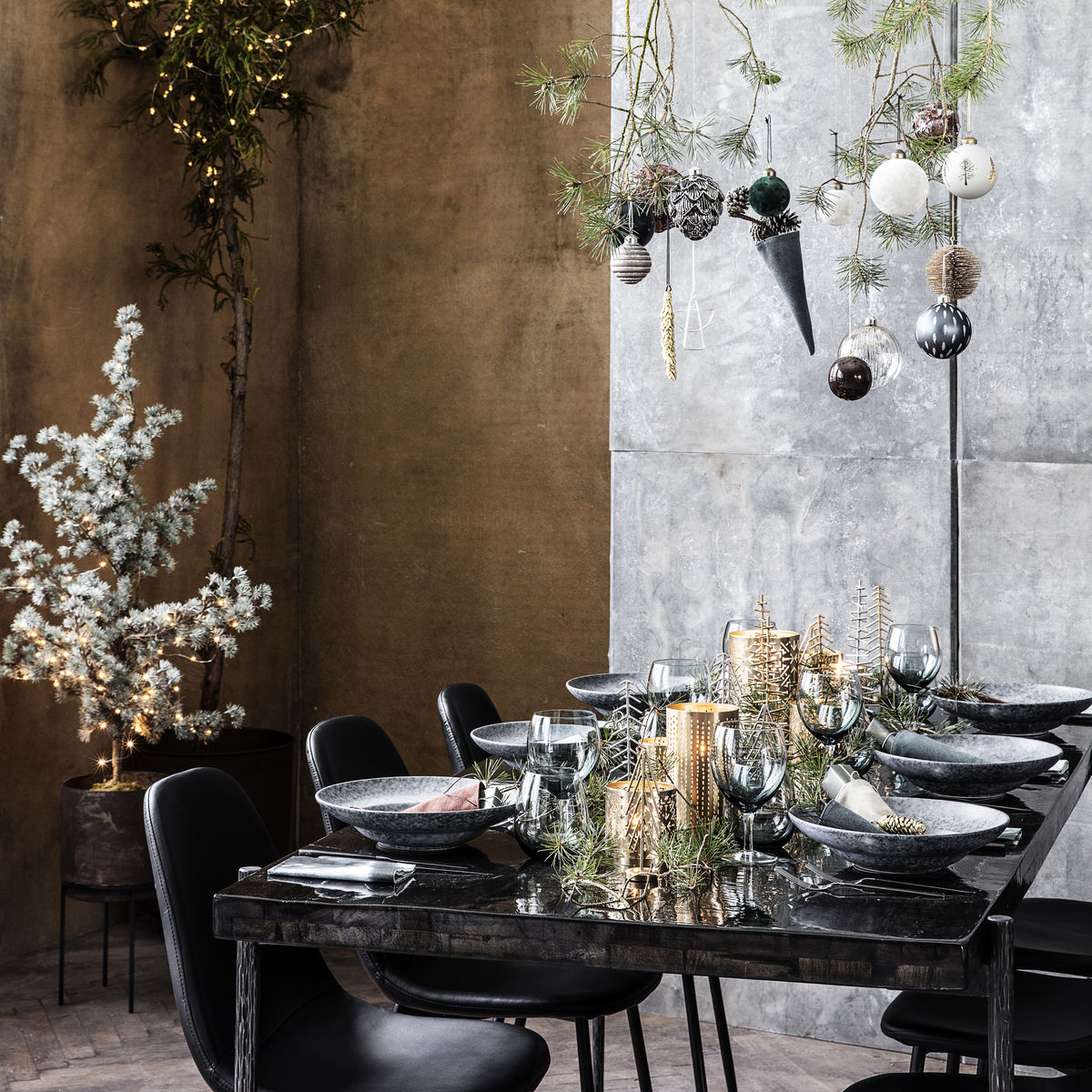 Centre de table de Noël : nos plus beaux centres de table - Elle
