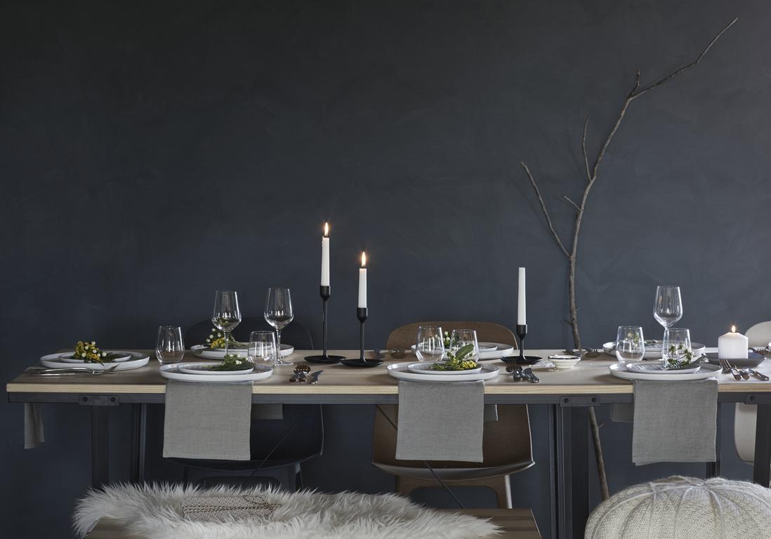 ikea no l une table pur e no l by ikea les id es d co qu 39 on pique au g ant su dois elle. Black Bedroom Furniture Sets. Home Design Ideas