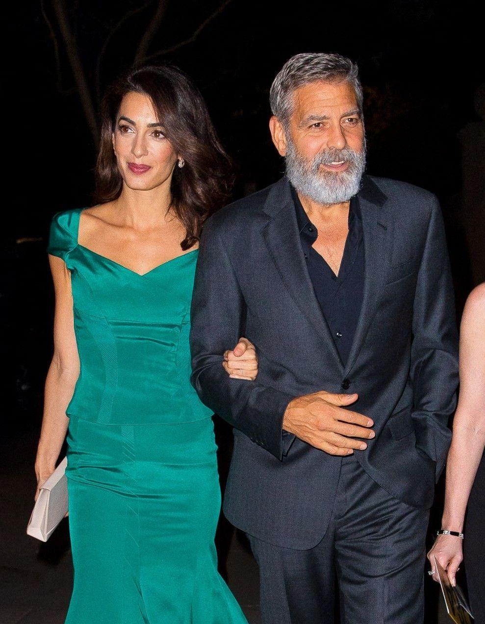 Amal Clooney enceinte ? Le couple Clooney répond officiellement à la rumeur - Elle