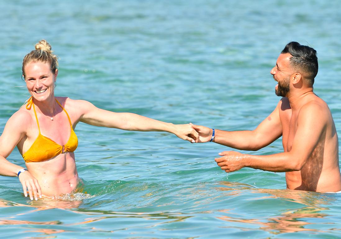 Amandine Henry et son petit-ami Karim : les images de leurs vacances ensoleillées