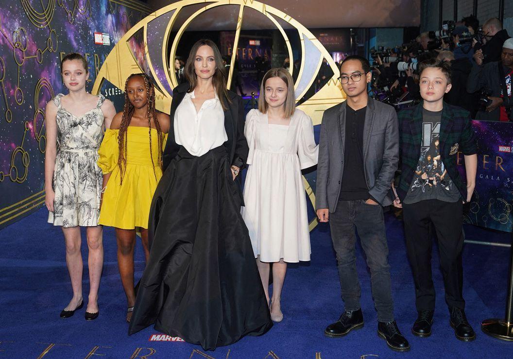 Angelina Jolie : ses plus beaux tapis rouges en famille