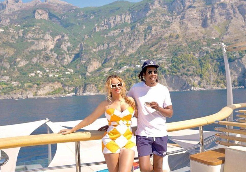 Beyoncé et Jay-Z à Nice : cet adorable cliché avec leur fille Rumi - Elle