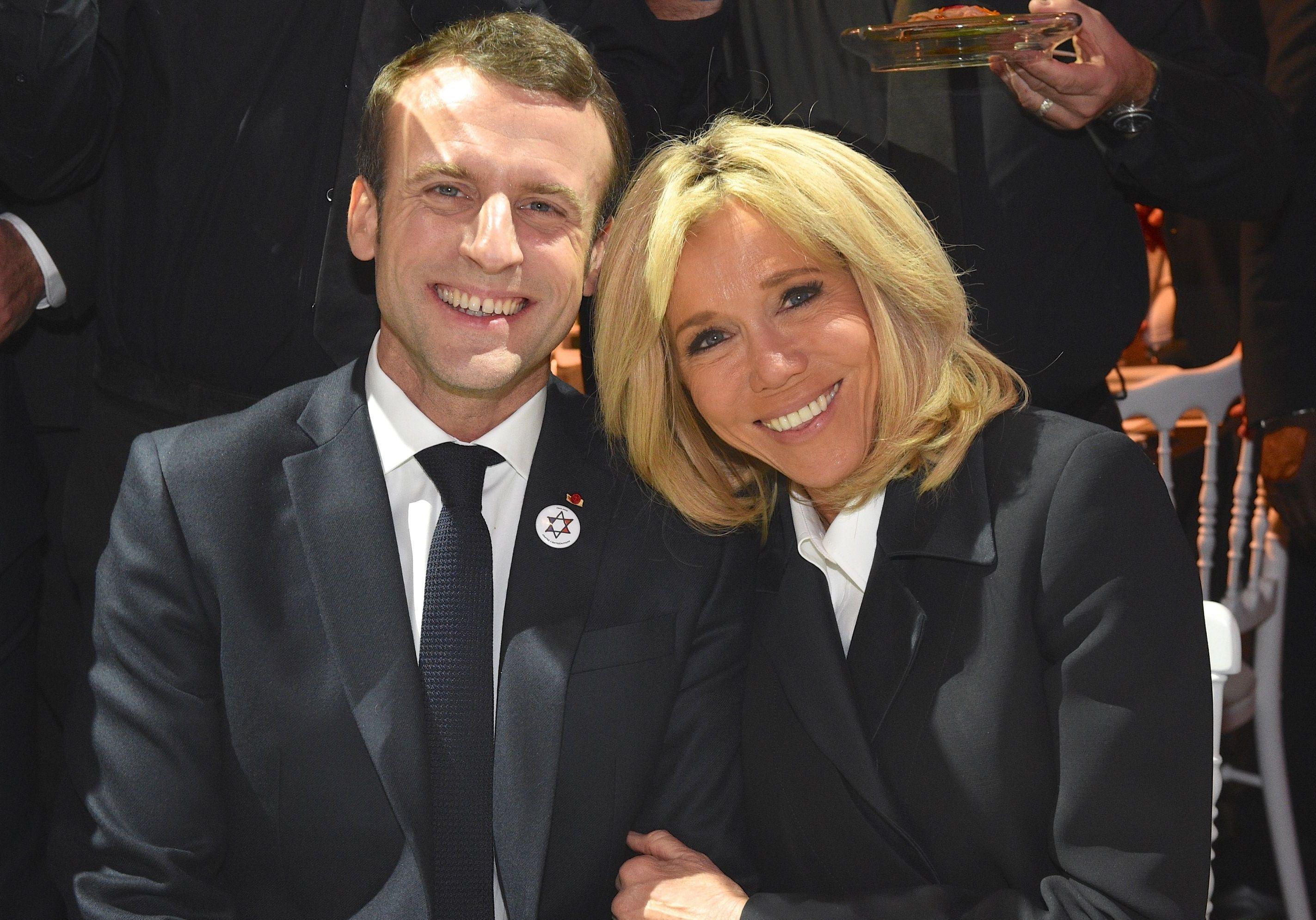Brigitte Macron : elle taquine Emmanuel Macron sur sa ...