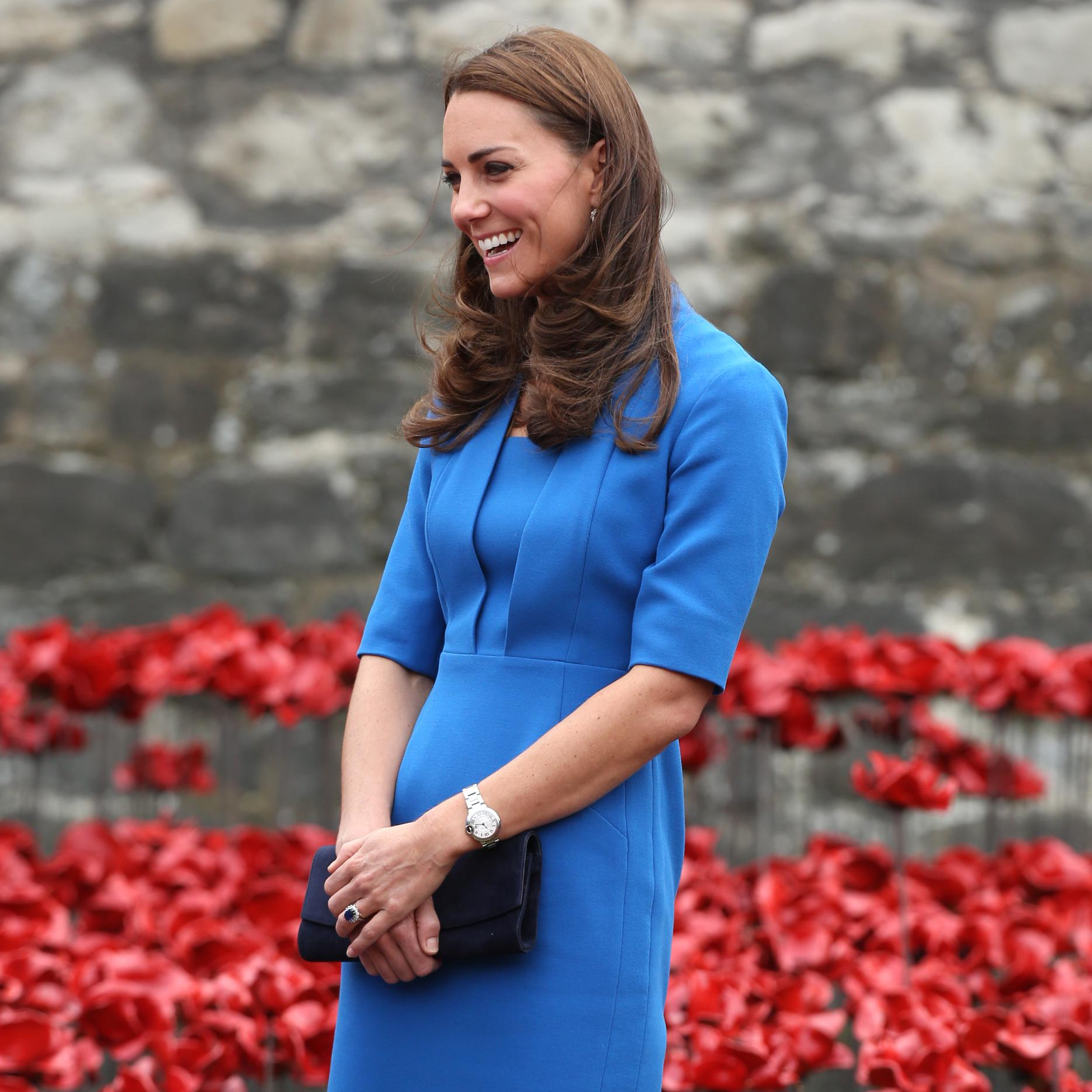 C'est Officiel : Kate Middleton Est Enceinte, Un Royal
