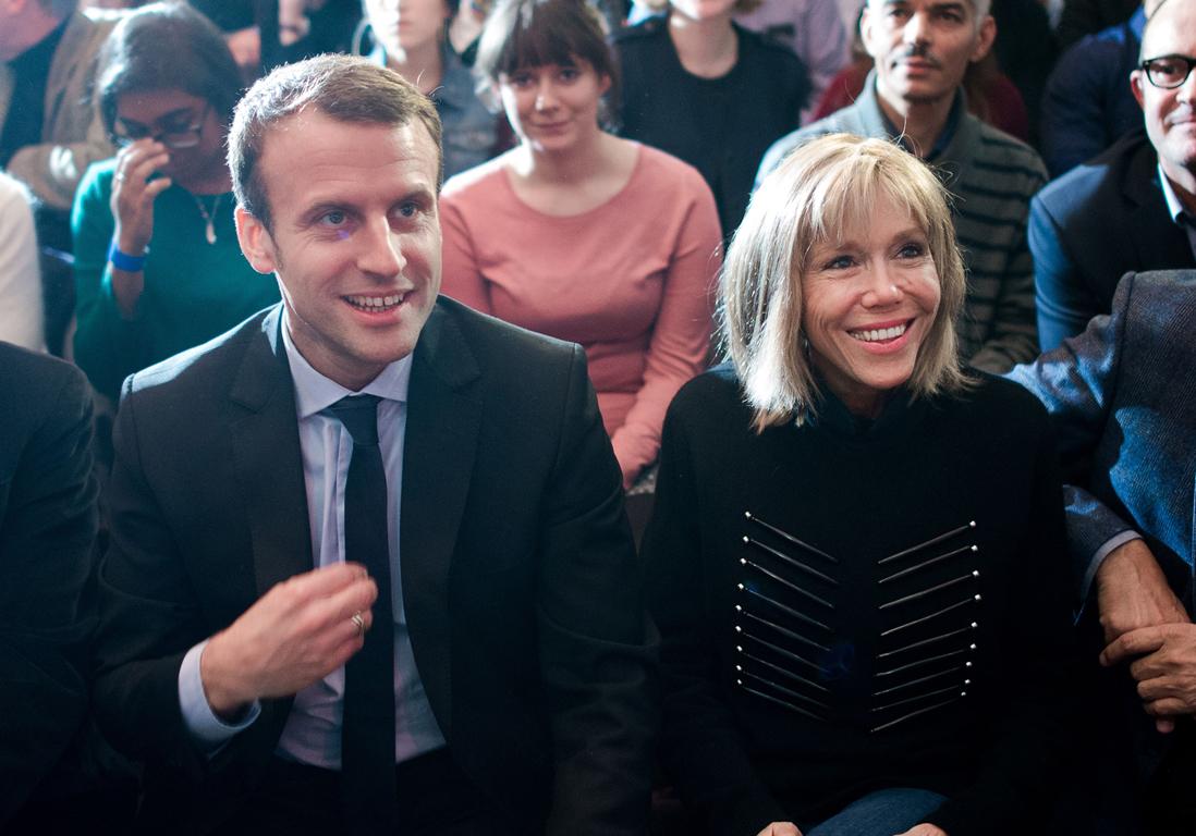 Emmanuel Macron Qui Est Sa Femme Brigitte Macron Elle