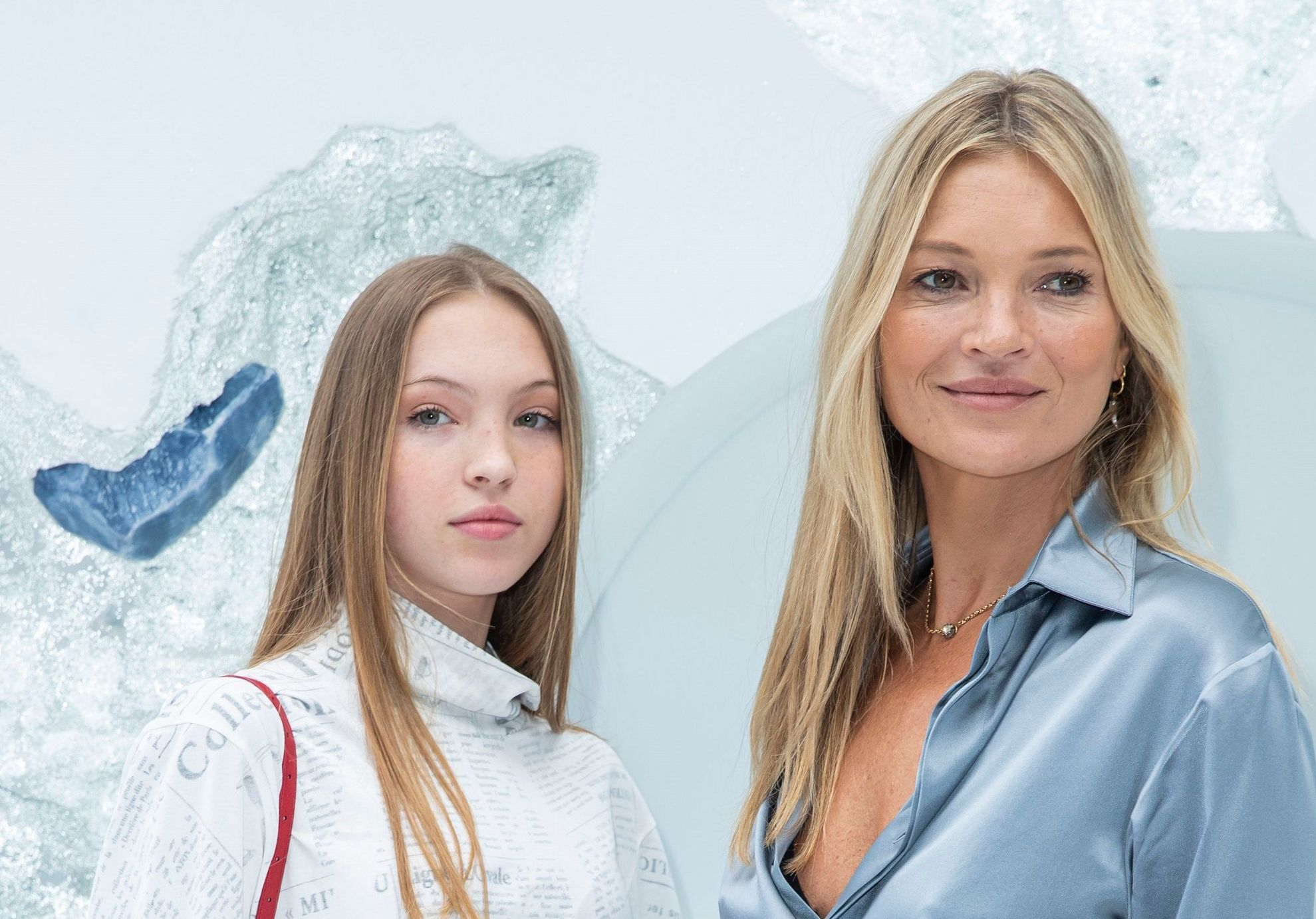 Fashion Week : Kate Moss et sa fille Lottie, stars du défilé Dior Homme