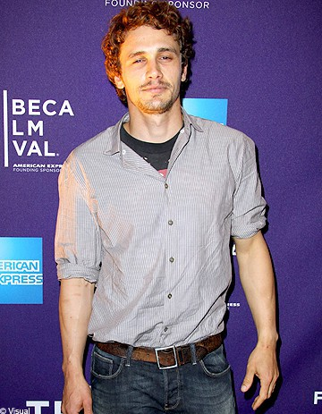 James Franco, professeur à l'université de Yale
