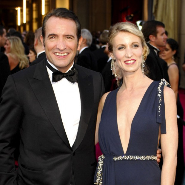 Jean dujardin et alexandra lamy rupture confirm e elle for Gaelle et jean dujardin