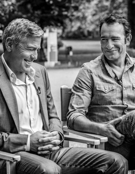 Jean dujardin se prend pour george clooney dans la pub for Dujardin recrutement