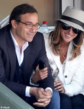 Jean-Luc Delarue amoureux à Roland-Garros - people - Elle