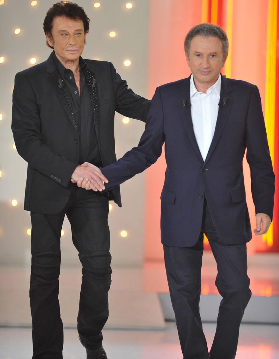 Johnny Hallyday L Emouvant Sms Qu Il A Envoye A Michel Drucker Avant Sa Disparition Elle