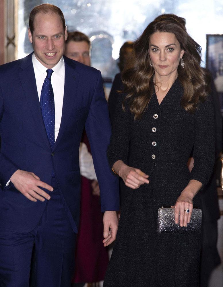 Kate Middleton le prince William complices pour leur soirée au théâtre - Elle