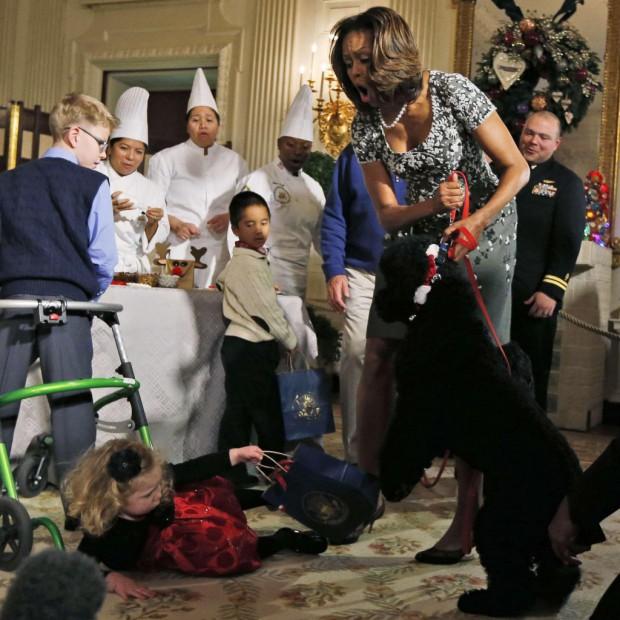 Le chien des obama s attaque aux invit s de la maison for Attaque sur la maison blanche
