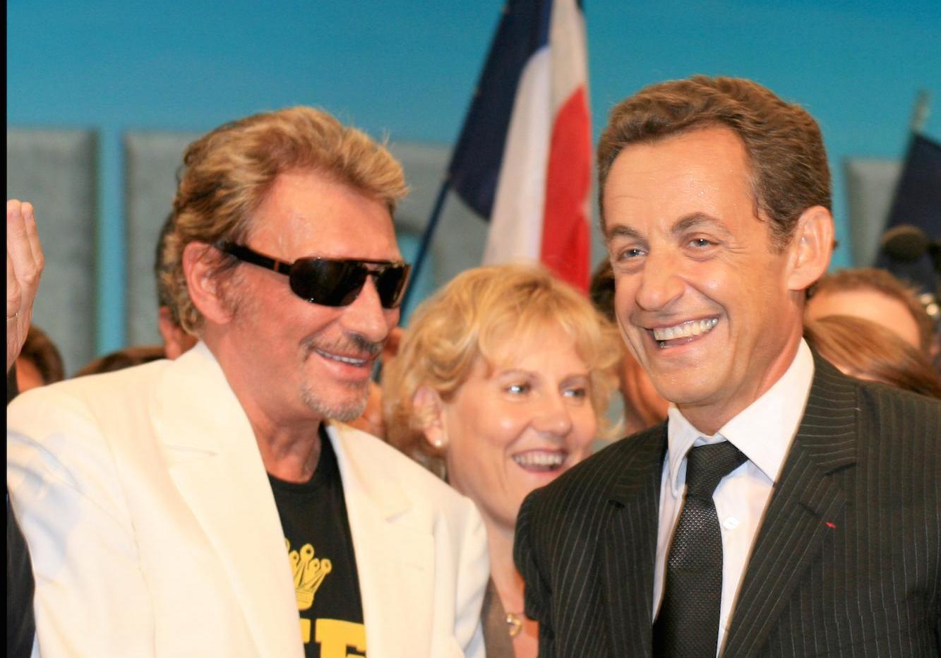 Johnny Hallyday Le Jour Ou Il A Accompagne Nicolas Sarkozy Se