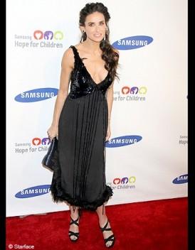 Le look du jour Demi Moore