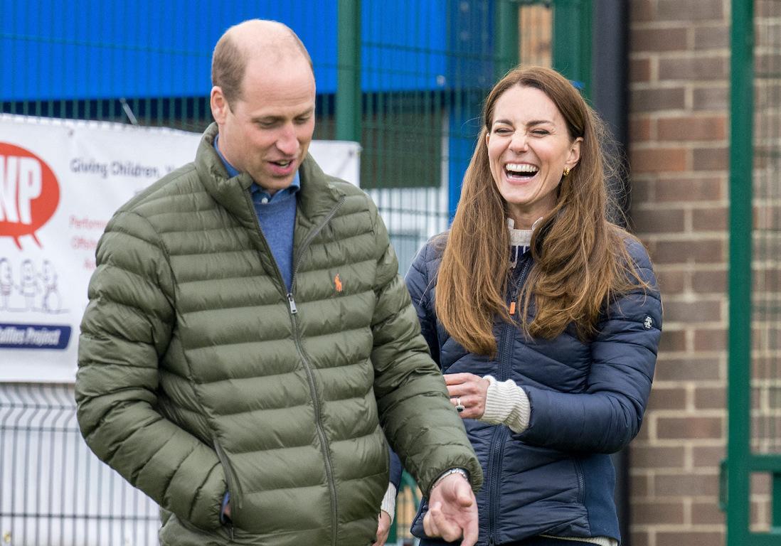Le prince William et Kate Middleton se lancent sur YouTube - Elle