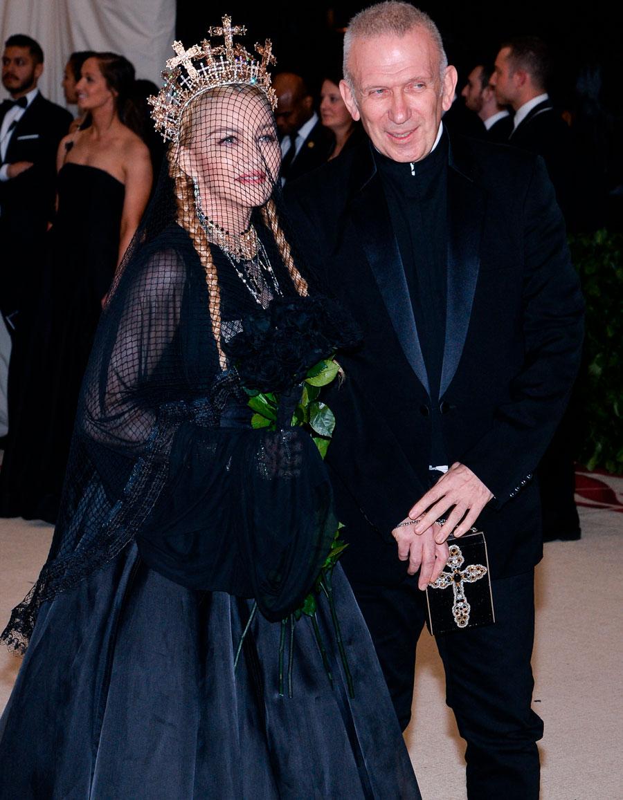 Les retrouvailles de Jean Paul Gaultier et Madonna à Paris - Elle