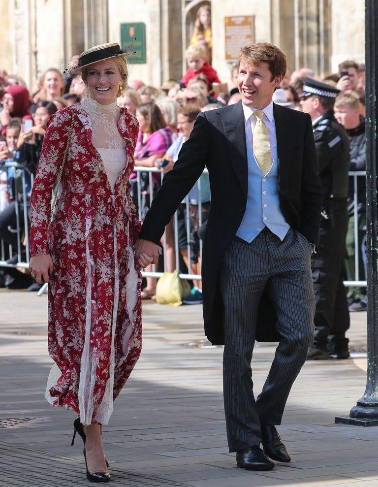 Mariage royal : James Blunt et Sofia Wellesley, la mélodie du bonheur - Elle