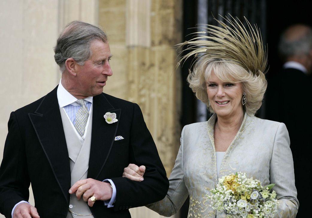 Mariage Royal Le Prince Charles Et Camilla Parker Bowles Les Amants Terribles Elle