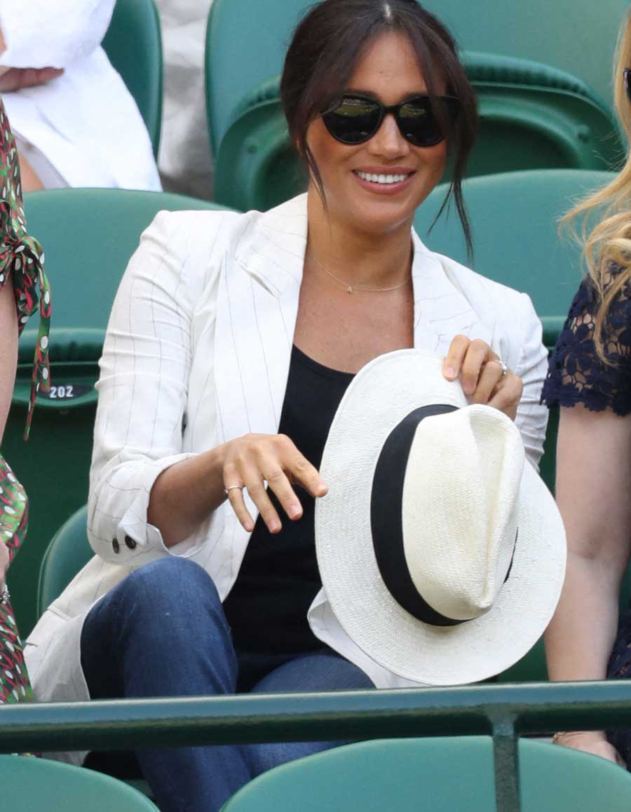 Image result for meghan markle wimbledon