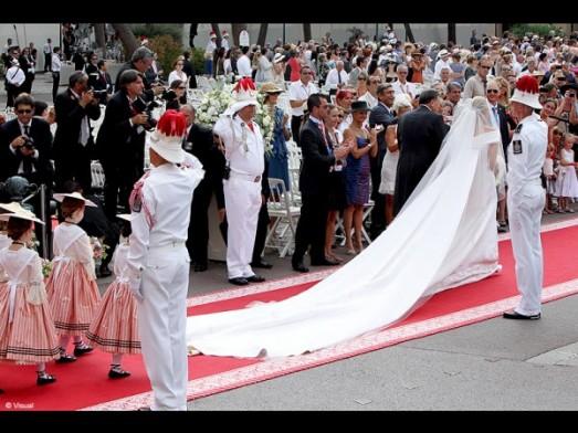 People mariage albert charlene traine