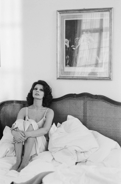 sophia loren r tro au lit avec les stars elle. Black Bedroom Furniture Sets. Home Design Ideas